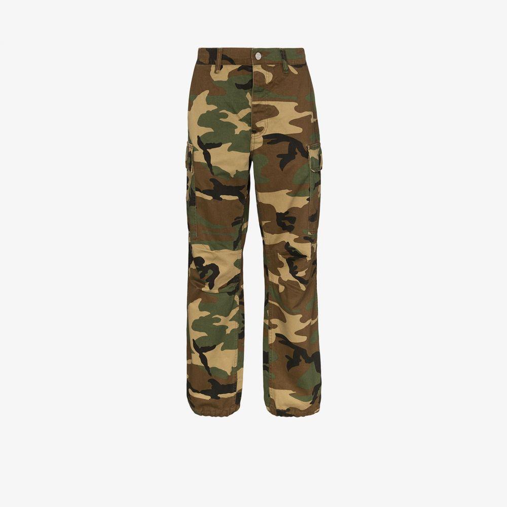 パープル ブランド purple brand メンズ カーゴパンツ ボトムス・パンツ【camouflage cargo trousers】brown