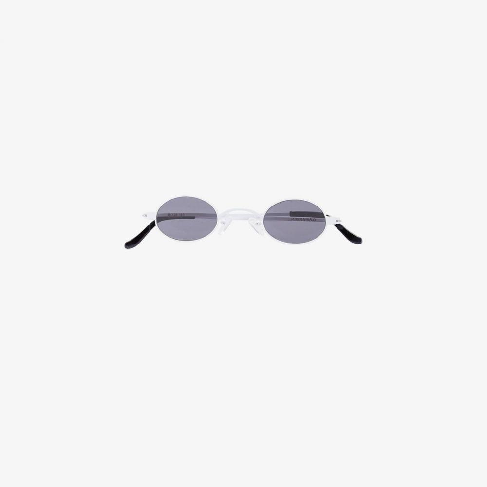 ロベリ&フラウド Roberi & Fraud レディース メガネ・サングラス 【White Doris Sunglasses】white