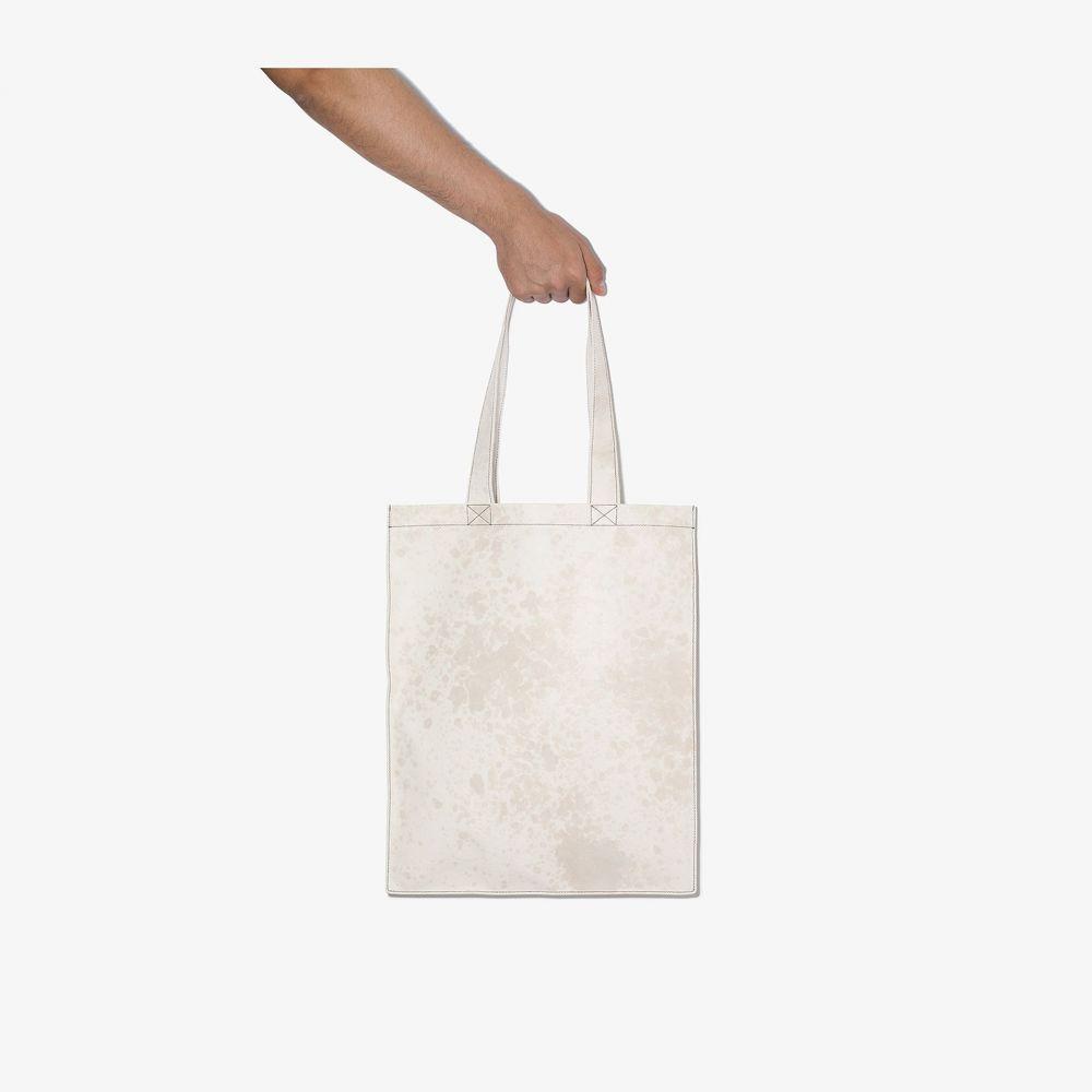 リック オウエンス Rick Owens メンズ トートバッグ バッグ【white Signature leather tote bag】white