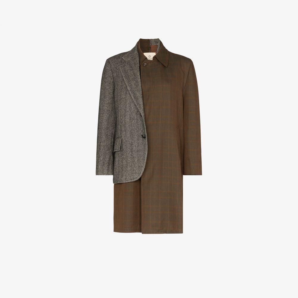 Rentrayage レディース スーツ・ジャケット アウター【Dr. Watson Patched Blazer Coat】multicolour