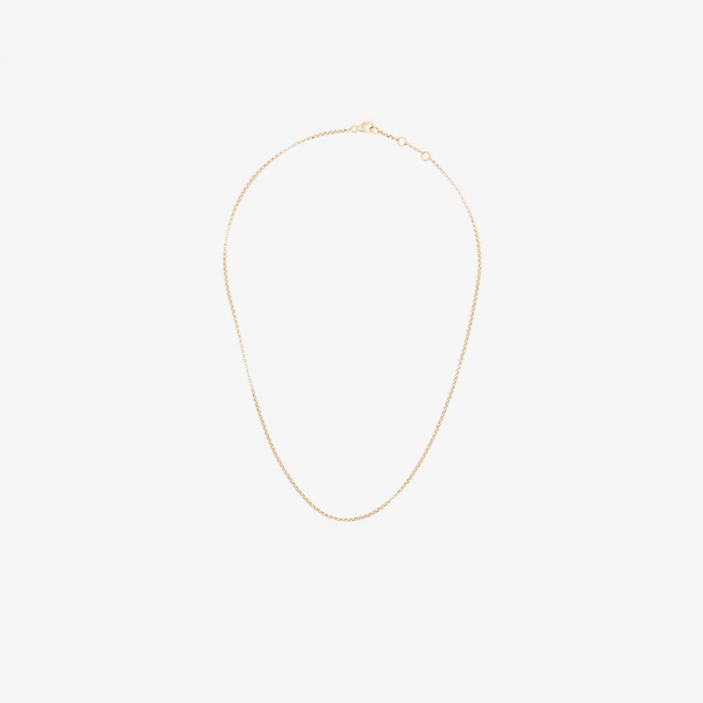 ローサ デ ラ クルス Rosa De La Cruz レディース ネックレス ジュエリー・アクセサリー【18K yellow gold chain necklace】