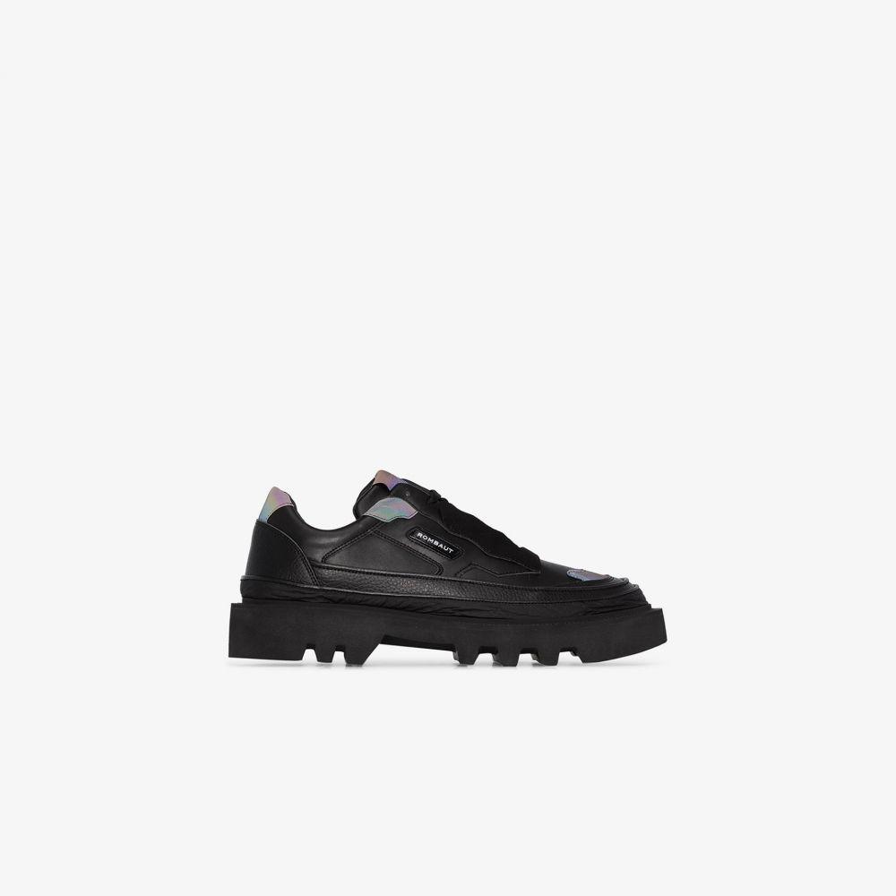 ロンバート Rombaut メンズ スニーカー シューズ・靴【black hybrid shadow vegan leather sneakers】black