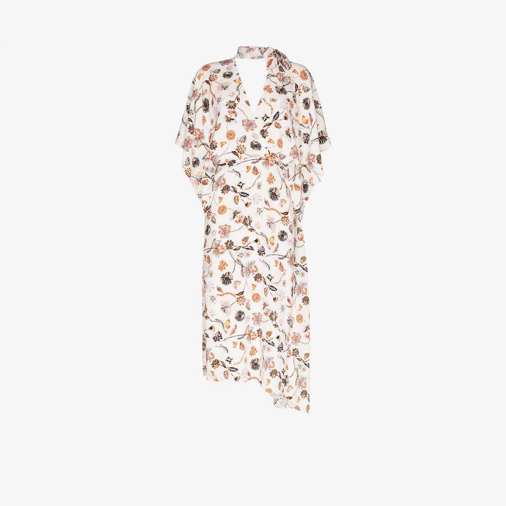ローラン ムレ Roland Mouret レディース ワンピース ワンピース・ドレス【Meyers floral print midi dress】white
