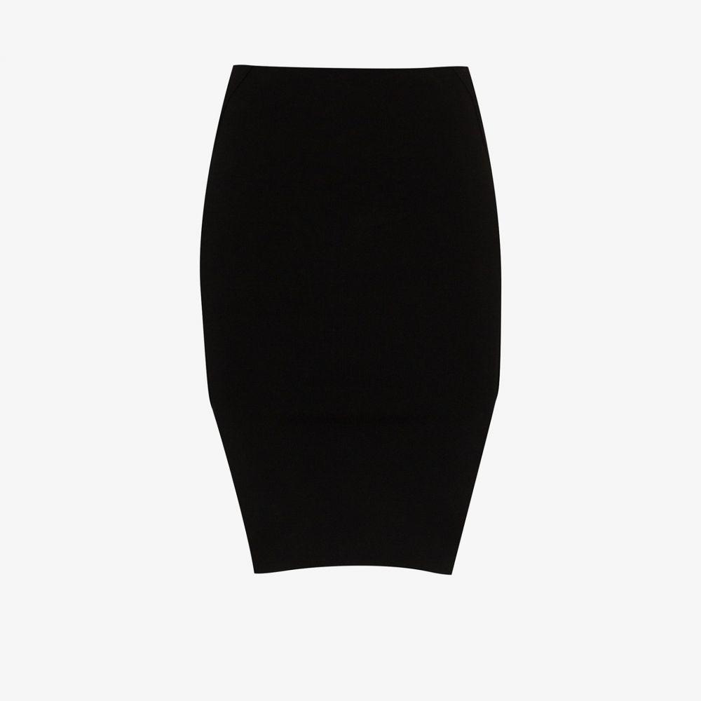 リック オウエンス Rick Owens レディース ミニスカート スカート【high-waisted mini skirt】black