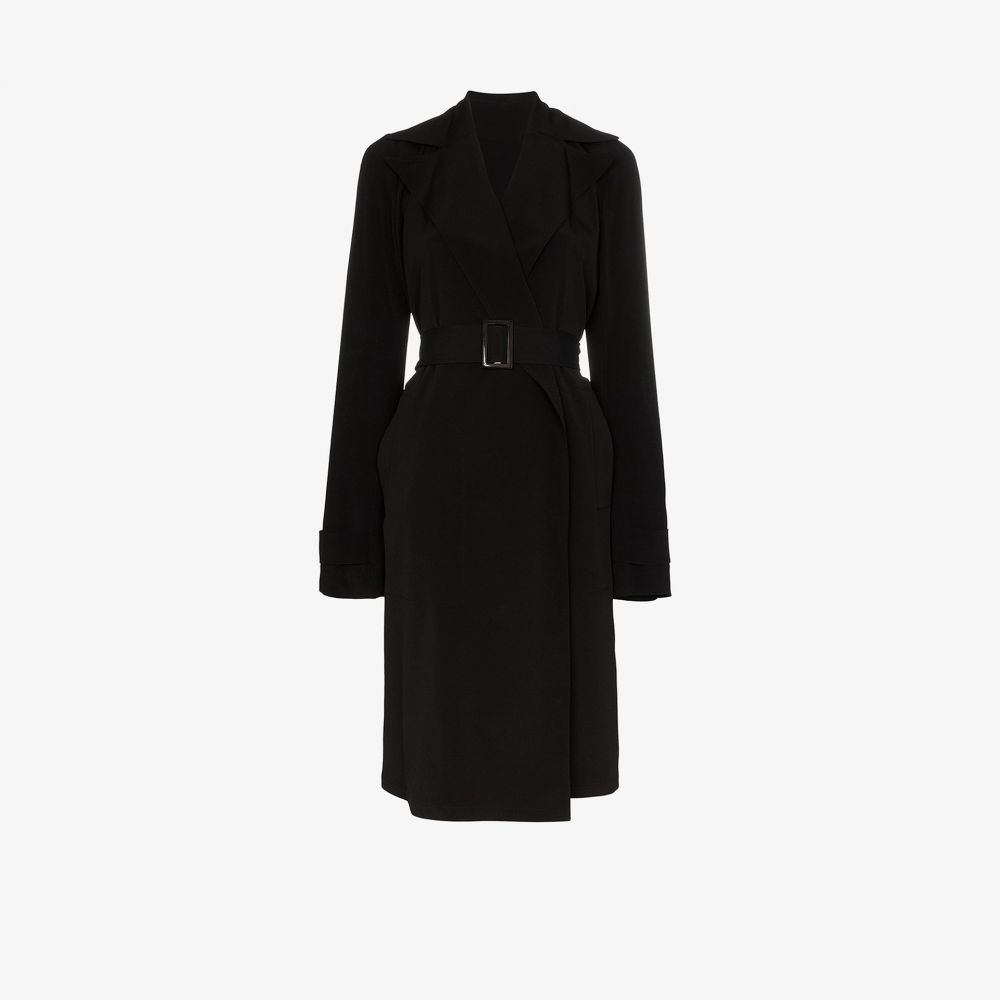 リック オウエンス Rick Owens レディース トレンチコート アウター【belted trench coat】black