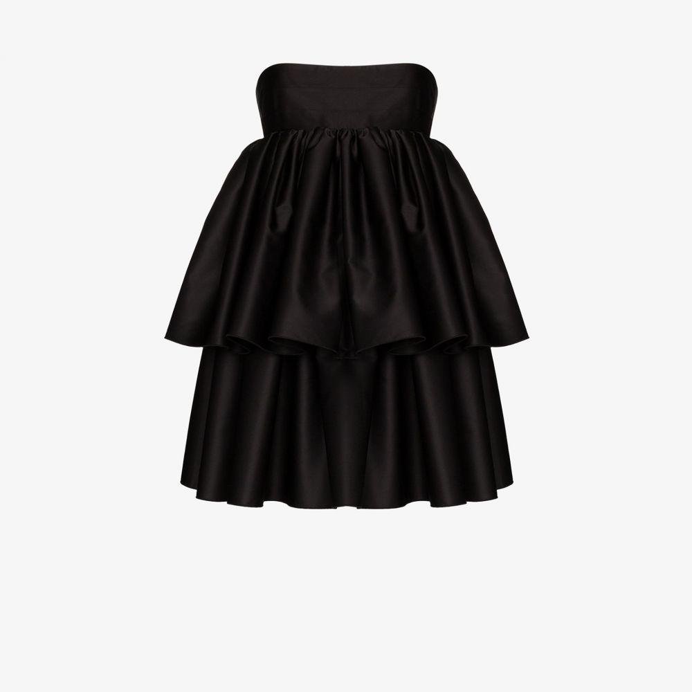 ロテート ROTATE レディース パーティードレス ワンピース・ドレス【Carmina strapless layered dress】black