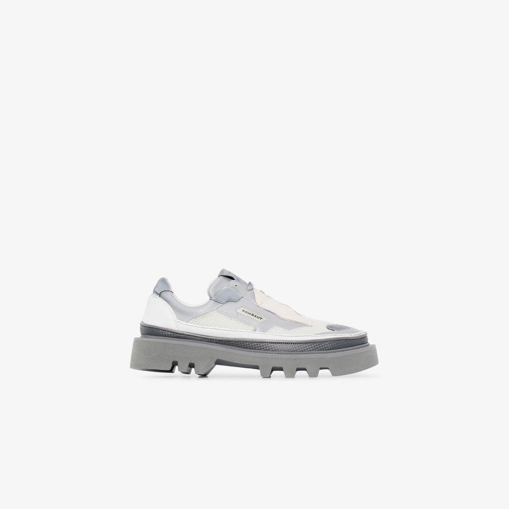 ロンバート Rombaut メンズ スニーカー シューズ・靴【grey protect hybrid vegan leather sneakers】grey