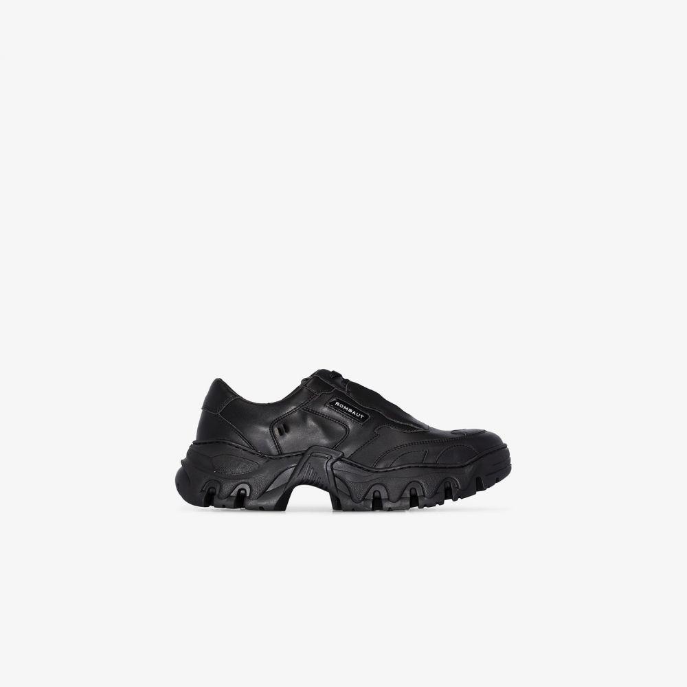 ロンバート Rombaut メンズ スニーカー チャンキーヒール シューズ・靴【Black Boccacio chunky sneakers】black