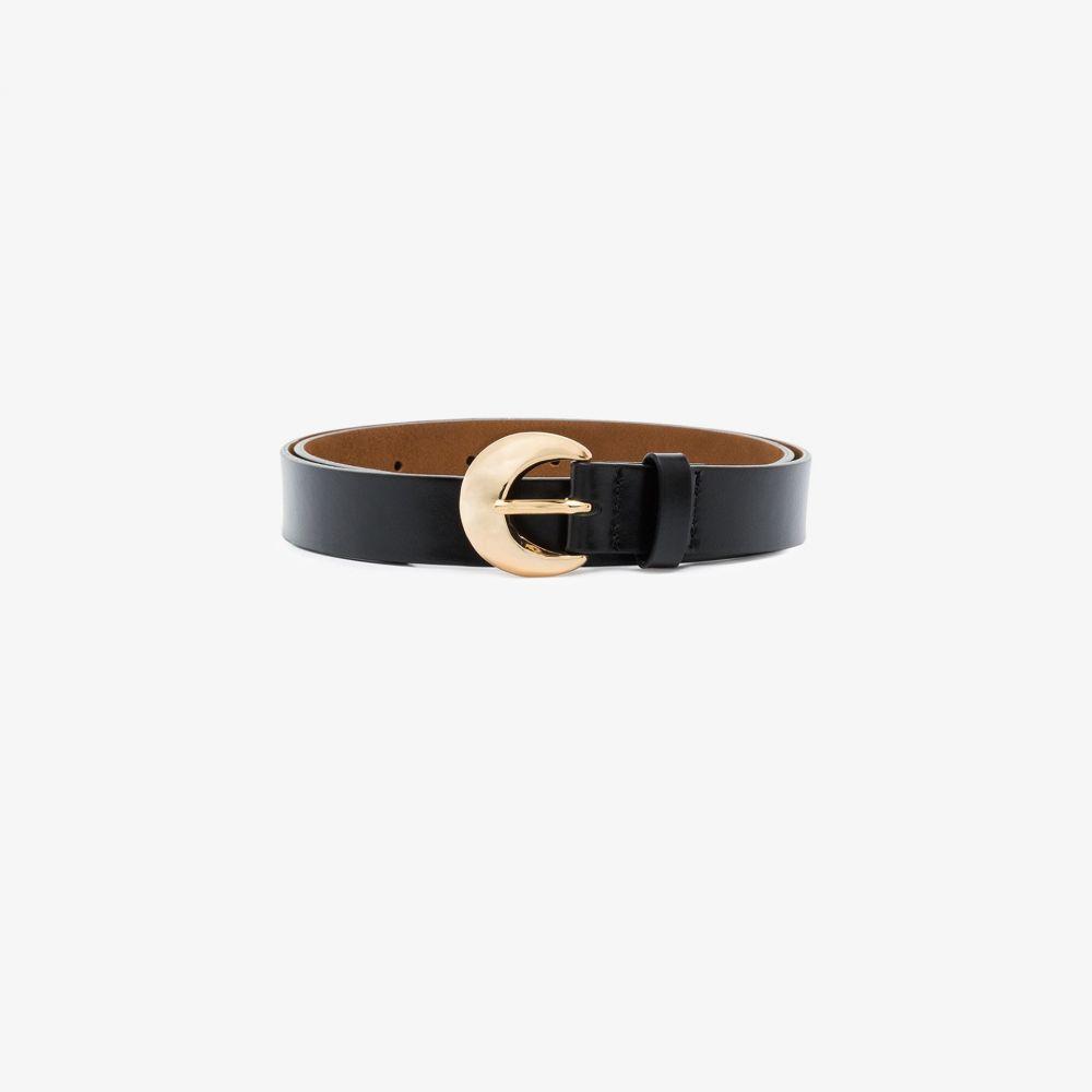 レジーナ ピヨ Rejina Pyo レディース ベルト 【black Moon leather belt】black