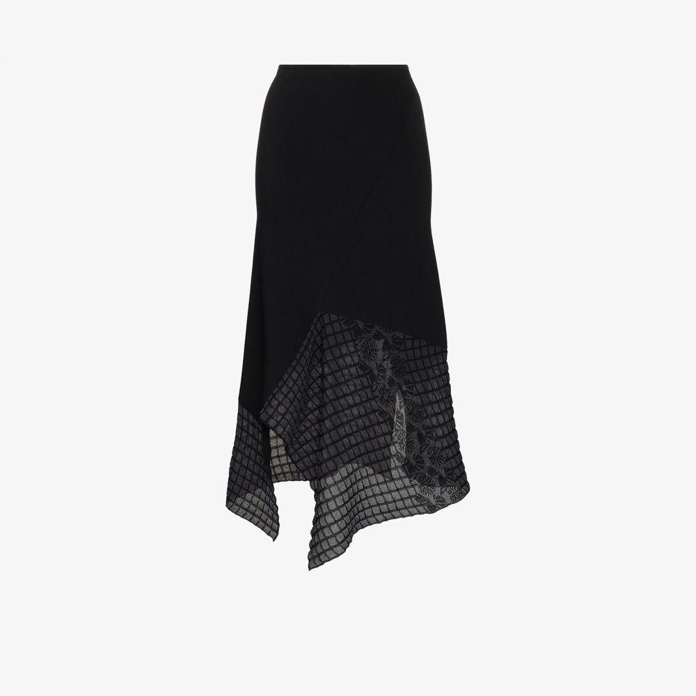 ローラン ムレ Roland Mouret レディース ひざ丈スカート スカート【Loda asymmetric midi skirt】black