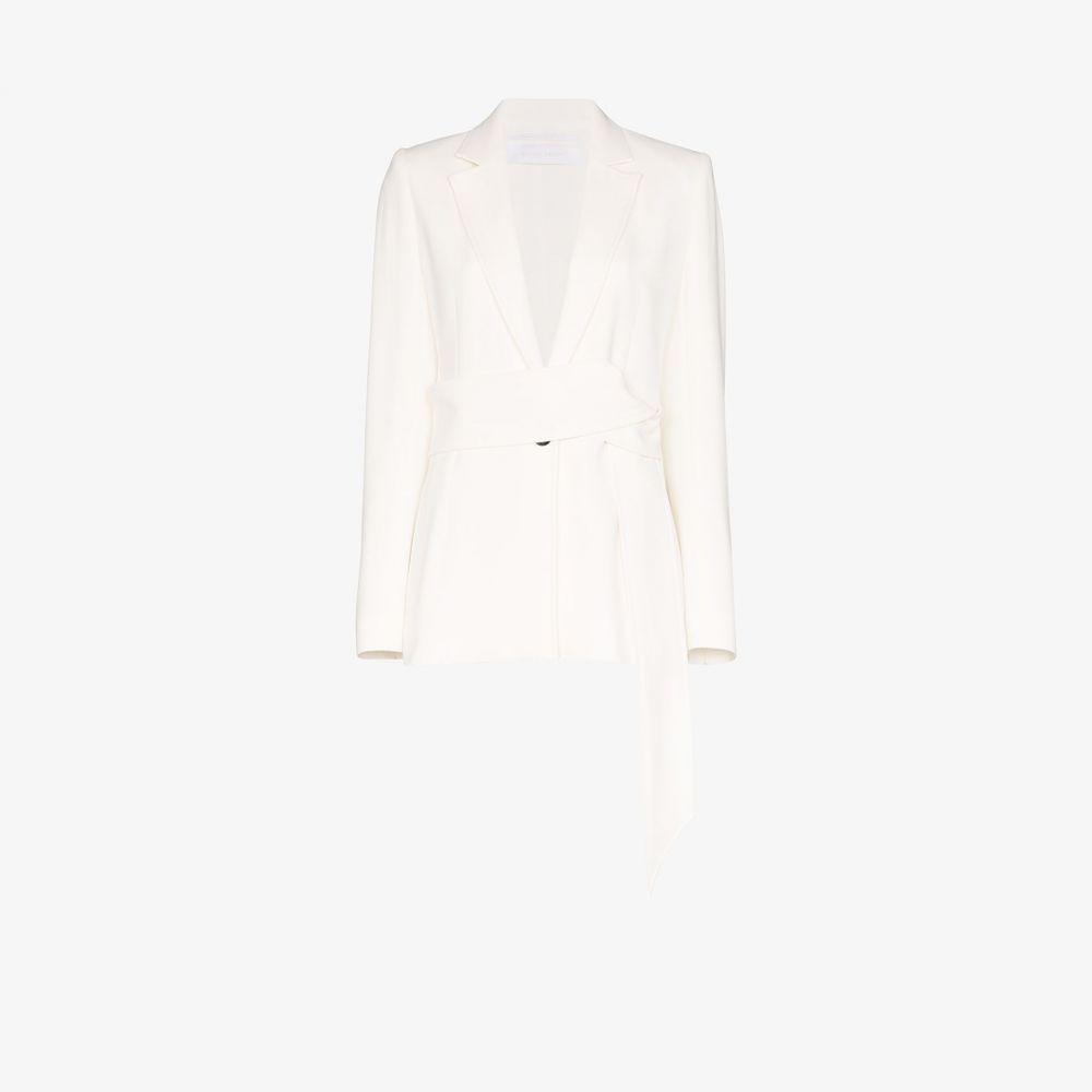 ローラン ムレ Roland Mouret レディース スーツ・ジャケット アウター【Belair single-breasted blazer】white