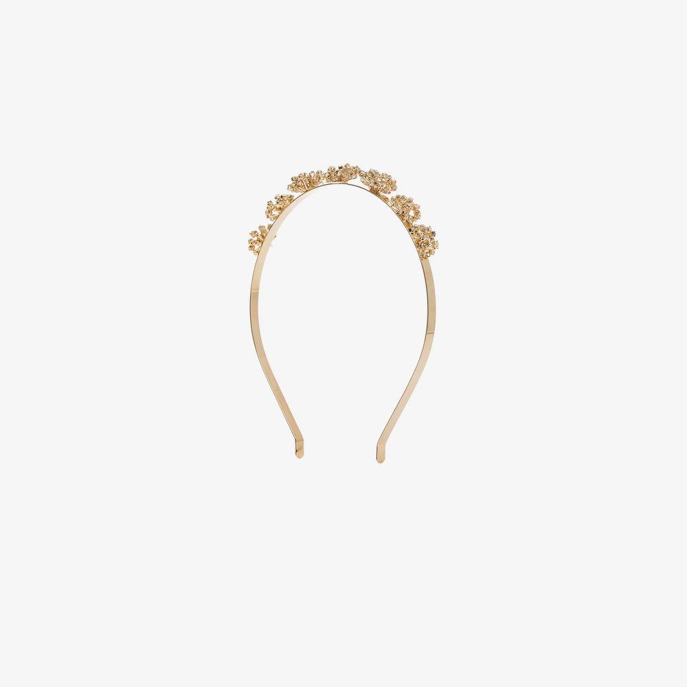 ロザンティカ Rosantica レディース ヘアアクセサリー ヘッドバンド【gold tone Arcadia crystal flower headband】gold