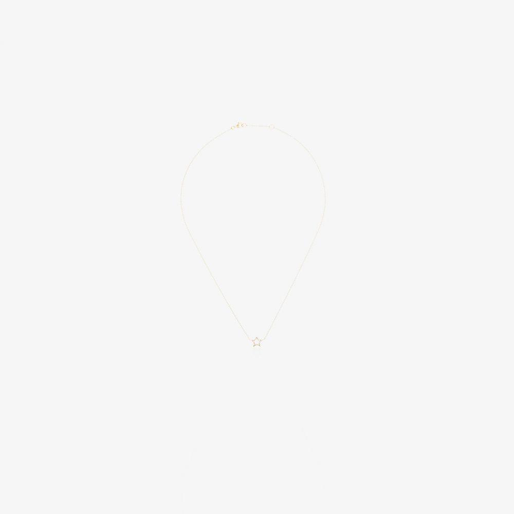 ローサ デ ラ クルス Rosa De La Cruz レディース ネックレス ジュエリー・アクセサリー【18K yellow gold star diamond pendant necklace】