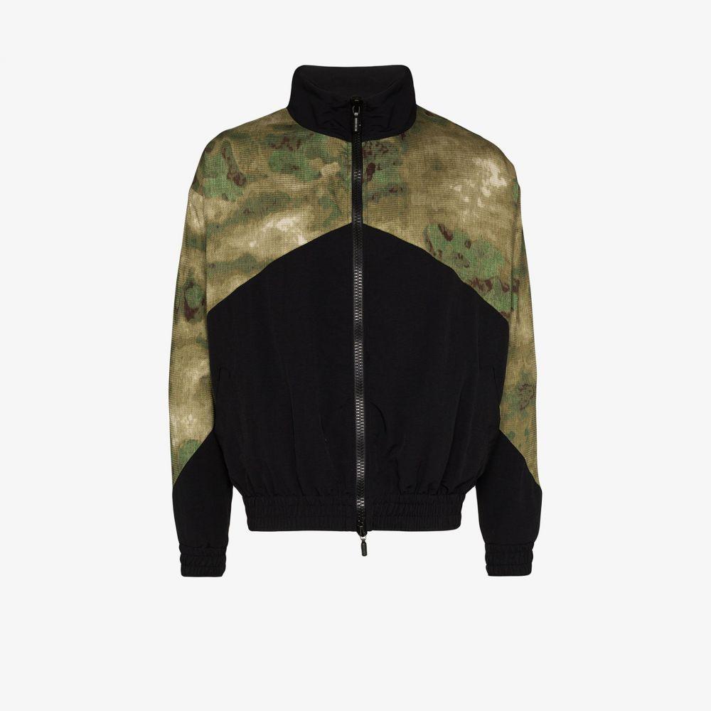 ルード Rhude メンズ ジャージ フライトジャケット アウター【Flight camo track jacket】black