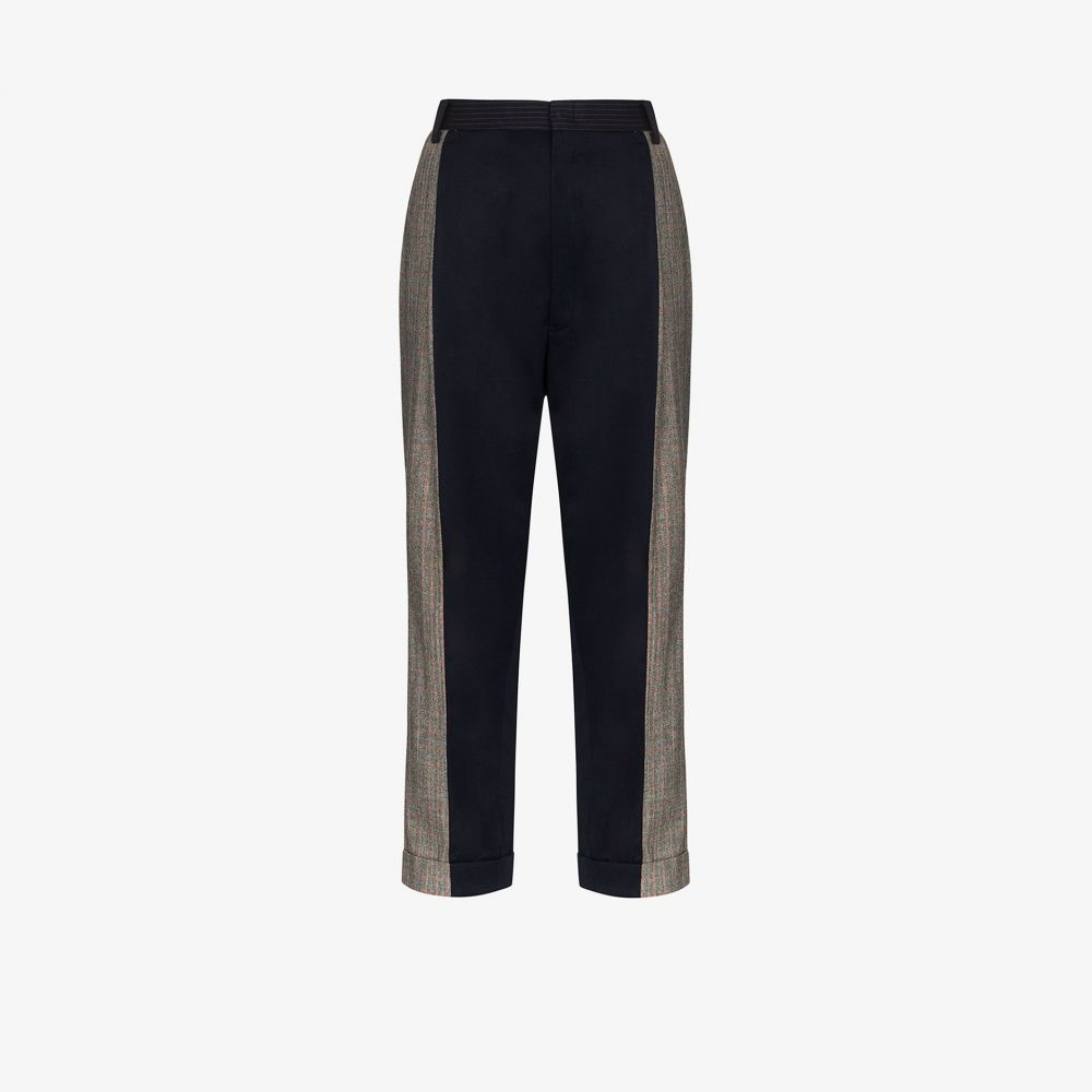 Rentrayage レディース ボトムス・パンツ 【Split Personality trousers】blue
