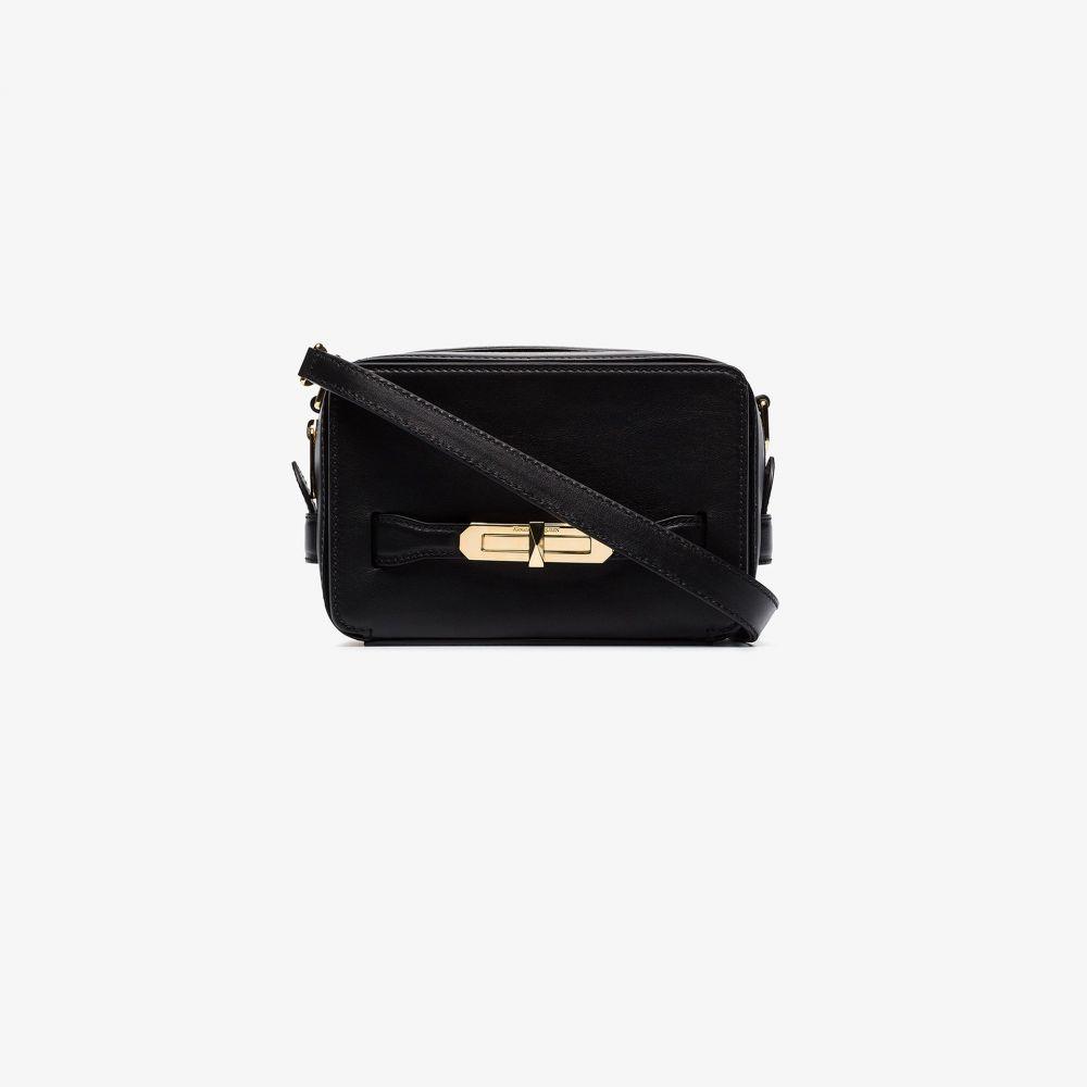 アレキサンダー マックイーン Alexander McQueen レディース ショルダーバッグ カメラバッグ バッグ【Black Myth leather camera bag】black