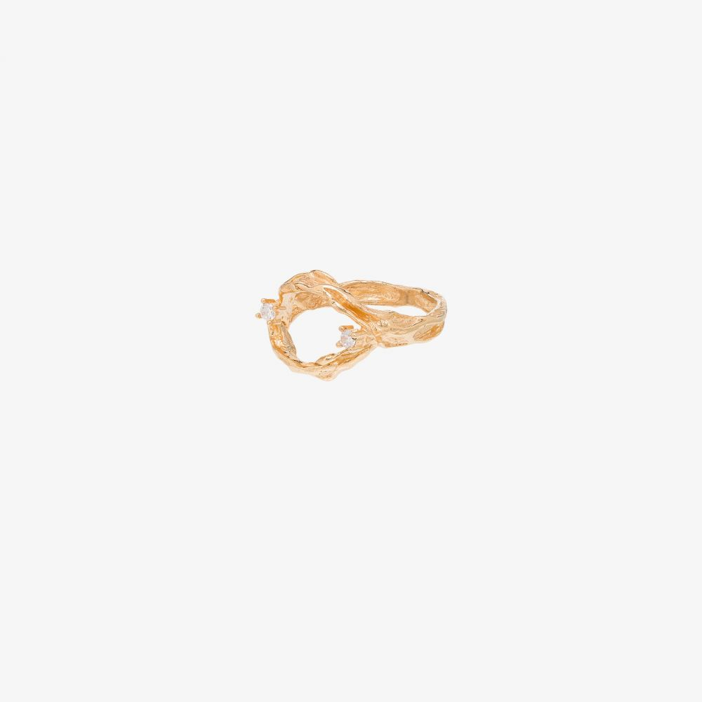 アップルズ アンド フィグズ Apples & Figs レディース 指輪・リング ジュエリー・アクセサリー【24K gold vermeil interchangeable onyx and lapis stone ring】