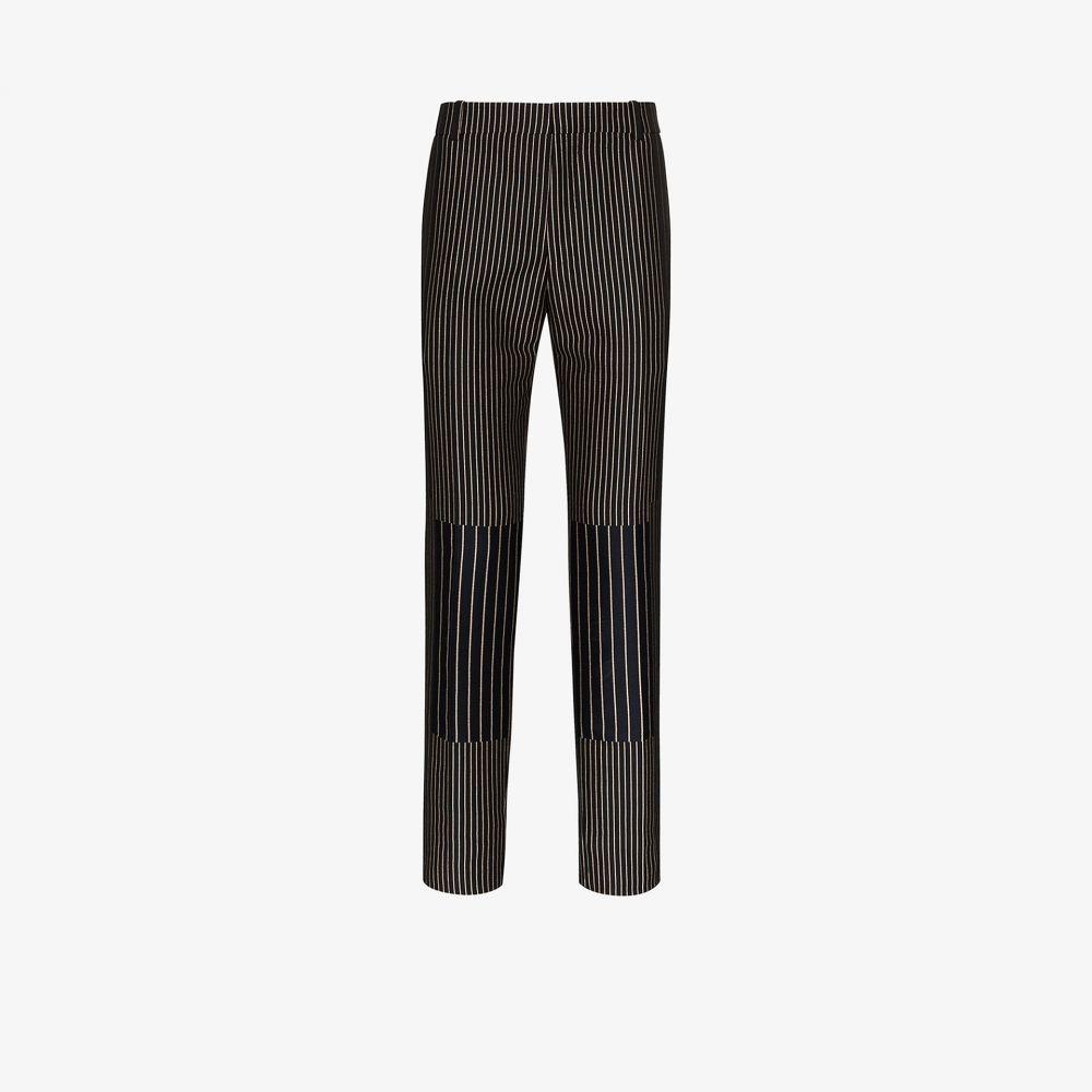 アレキサンダー マックイーン Alexander McQueen メンズ ボトムス・パンツ 【Striped tailored trousers】black