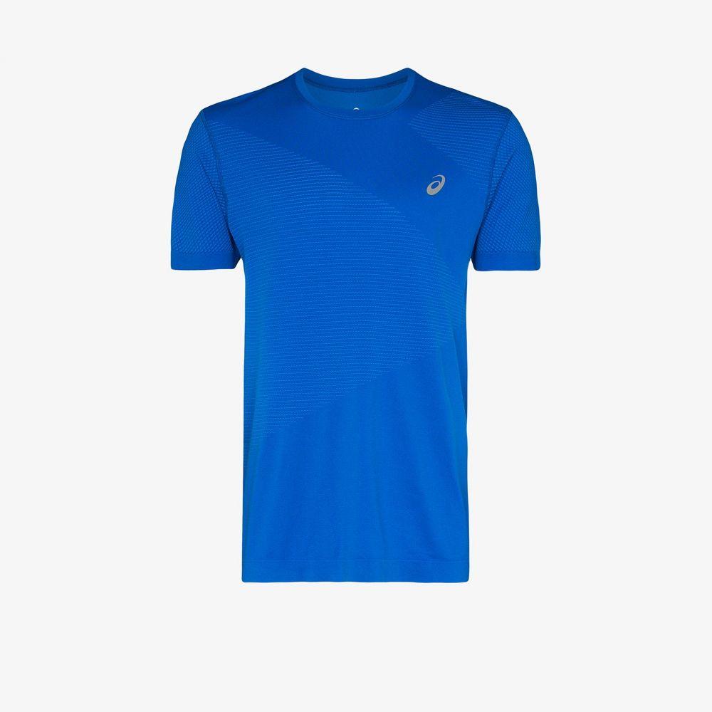 アシックス ASICS メンズ Tシャツ トップス【blue Tokyo Seamless SS T-shirt】blue