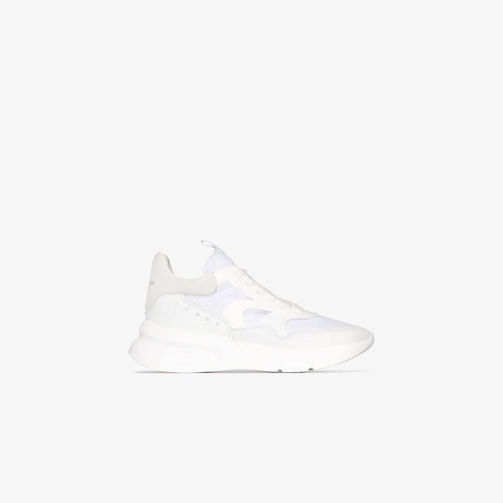 アレキサンダー マックイーン Alexander McQueen メンズ ランニング・ウォーキング スニーカー シューズ・靴【white oversized runner sneakers】white