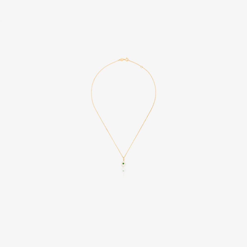 アニルー Anni Lu レディース ネックレス ジュエリー・アクセサリー【gold plated pearl and crystal necklace】white