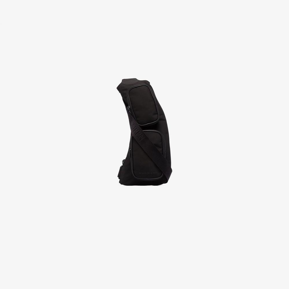 アレキサンダー マックイーン Alexander McQueen メンズ ショルダーバッグ バッグ【black sling cross body bag】black