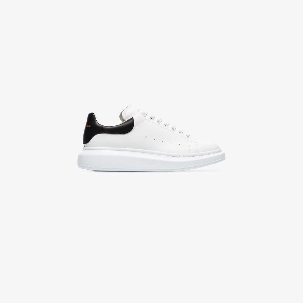 アレキサンダー マックイーン Alexander McQueen メンズ スニーカー シューズ・靴【white and black Oversized sneakers】white