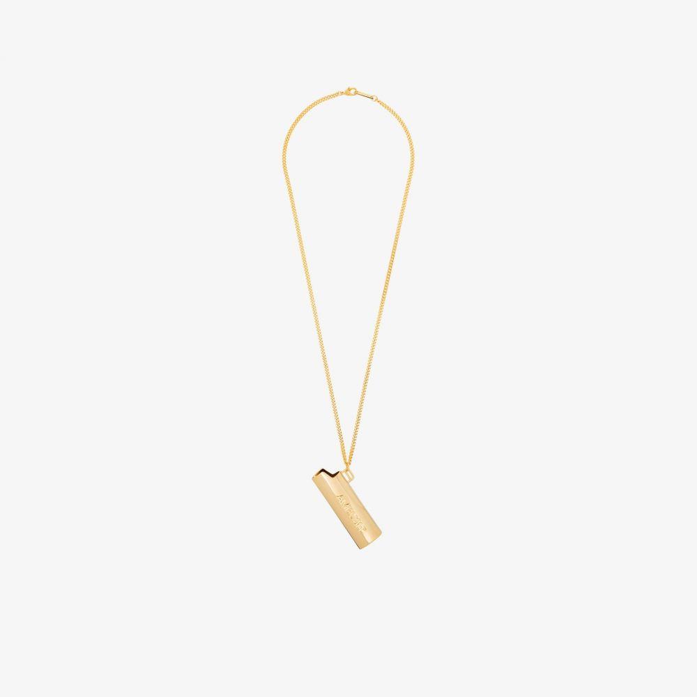 アンブッシュ AMBUSH メンズ ネックレス ジュエリー・アクセサリー【gold tone Lighter case necklace】gold