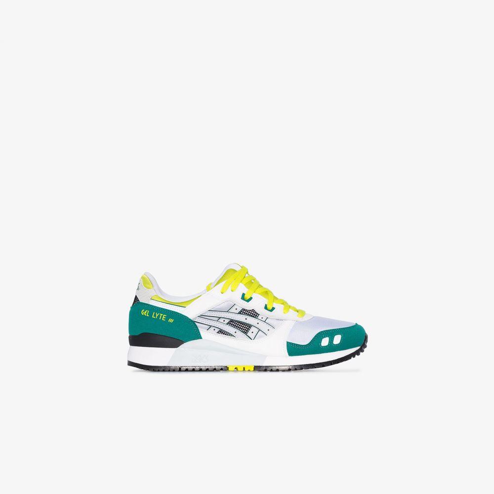 アシックス ASICS メンズ スニーカー シューズ・靴【Multicoloured Gel Lyte 30th Anniversary sneakers】white