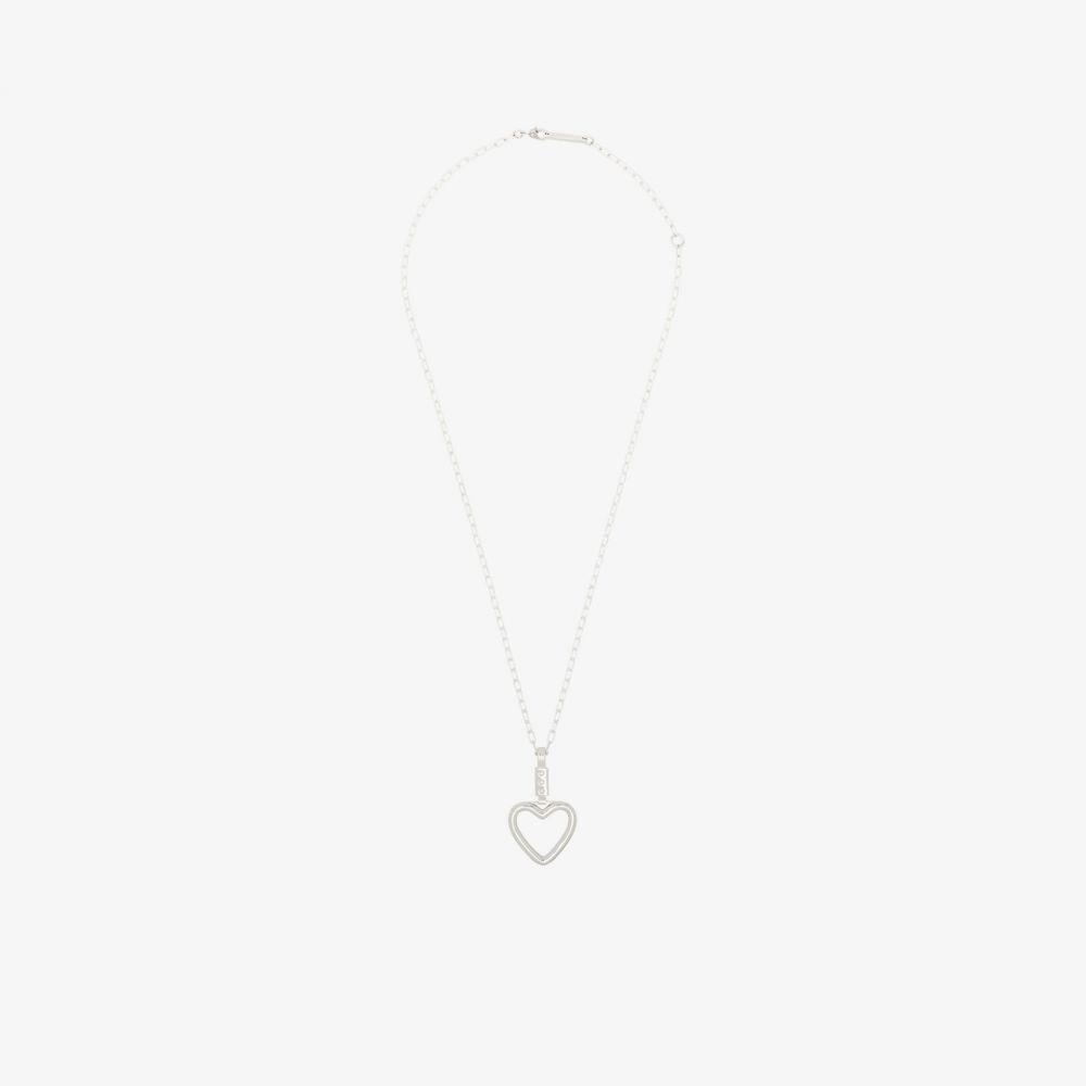 アンブッシュ AMBUSH レディース ネックレス チャーム ハート ジュエリー・アクセサリー【sterling silver heart ring charm necklace】silver