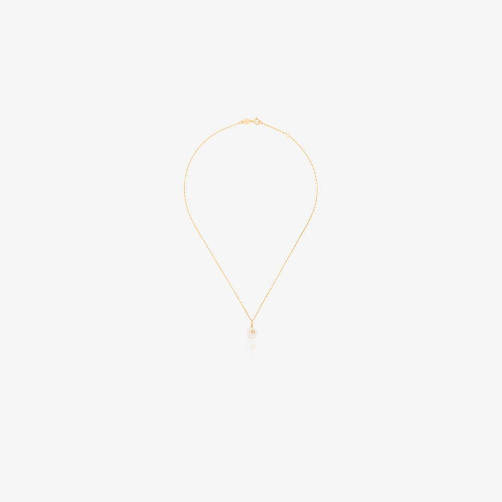 アニルー Anni Lu レディース ネックレス ジュエリー・アクセサリー【18K yellow gold-plated Baroque pearl opal necklace】