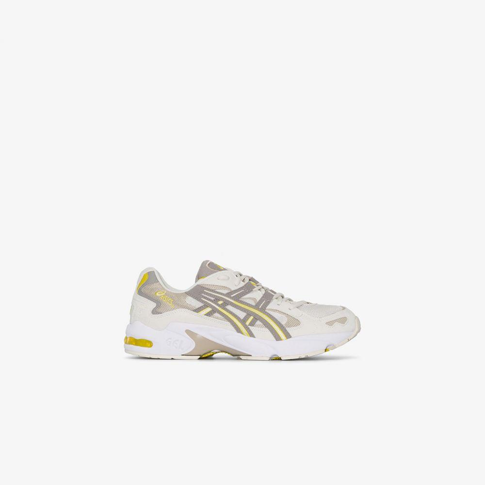 アシックス ASICS メンズ スニーカー シューズ・靴【White Gel Kayano 5 sneakers】neutrals