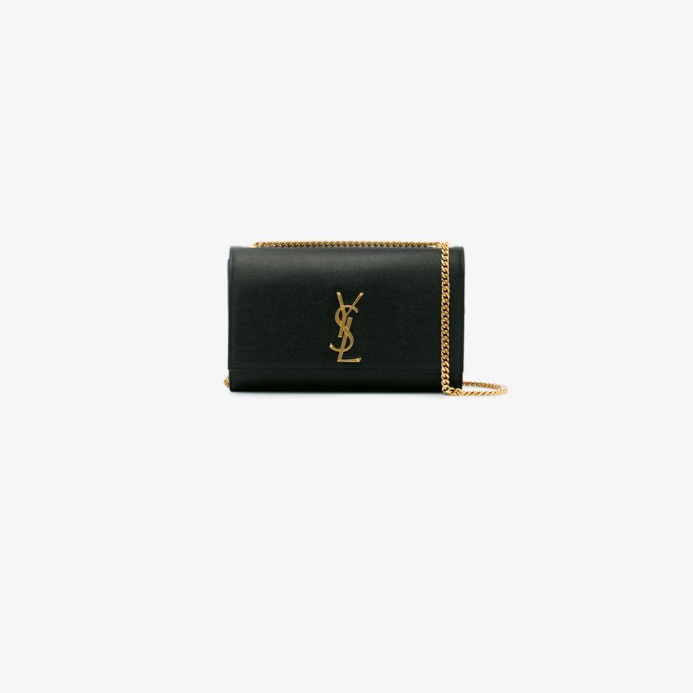 イヴ サンローラン Saint Laurent レディース ショルダーバッグ バッグ【Black Medium Monogram shoulder bag】black
