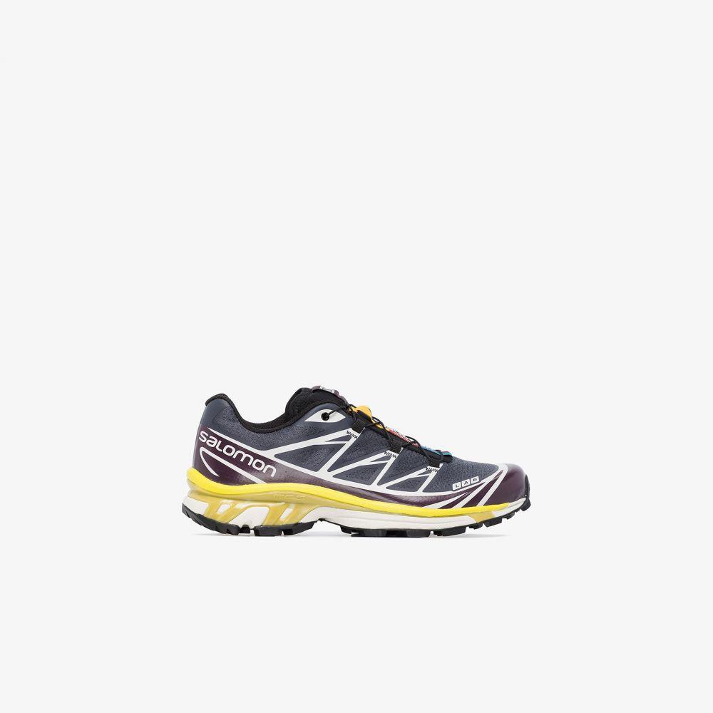 サロモン Salomon S/Lab レディース スニーカー シューズ・靴【multicoloured XT-6 Advanced sneakers】grey