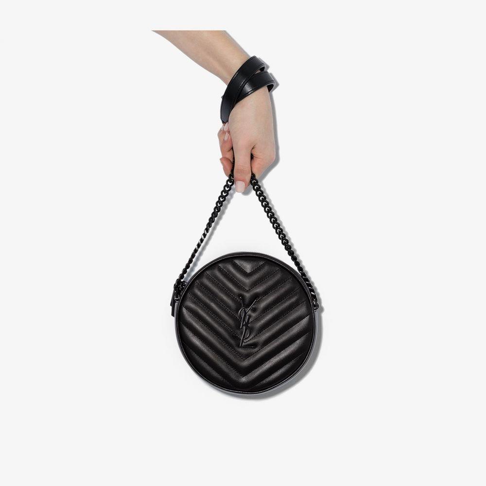 イヴ サンローラン Saint Laurent レディース ショルダーバッグ バッグ【quilted shoulder bag】black