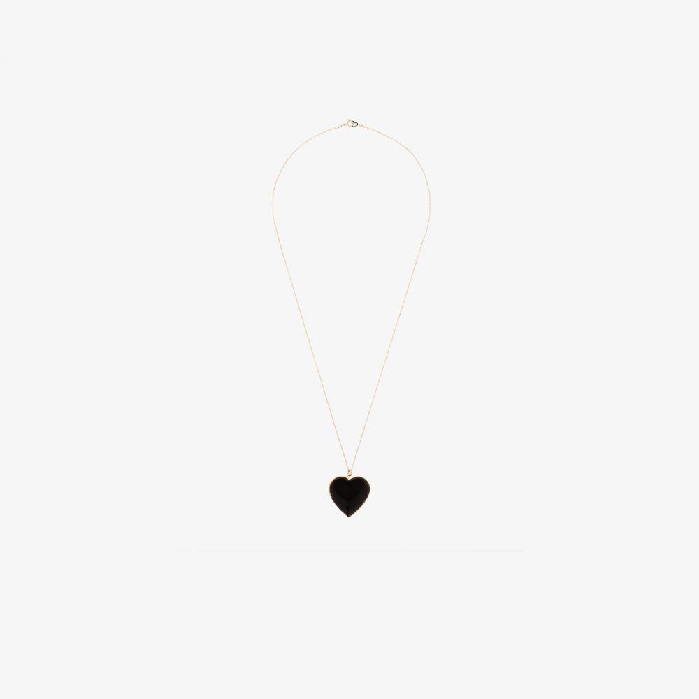 サシャ サミュエル Sasha Samuel レディース ネックレス ハート ジュエリー・アクセサリー【14K gold-plated Hannah pearl heart locket necklace】gold