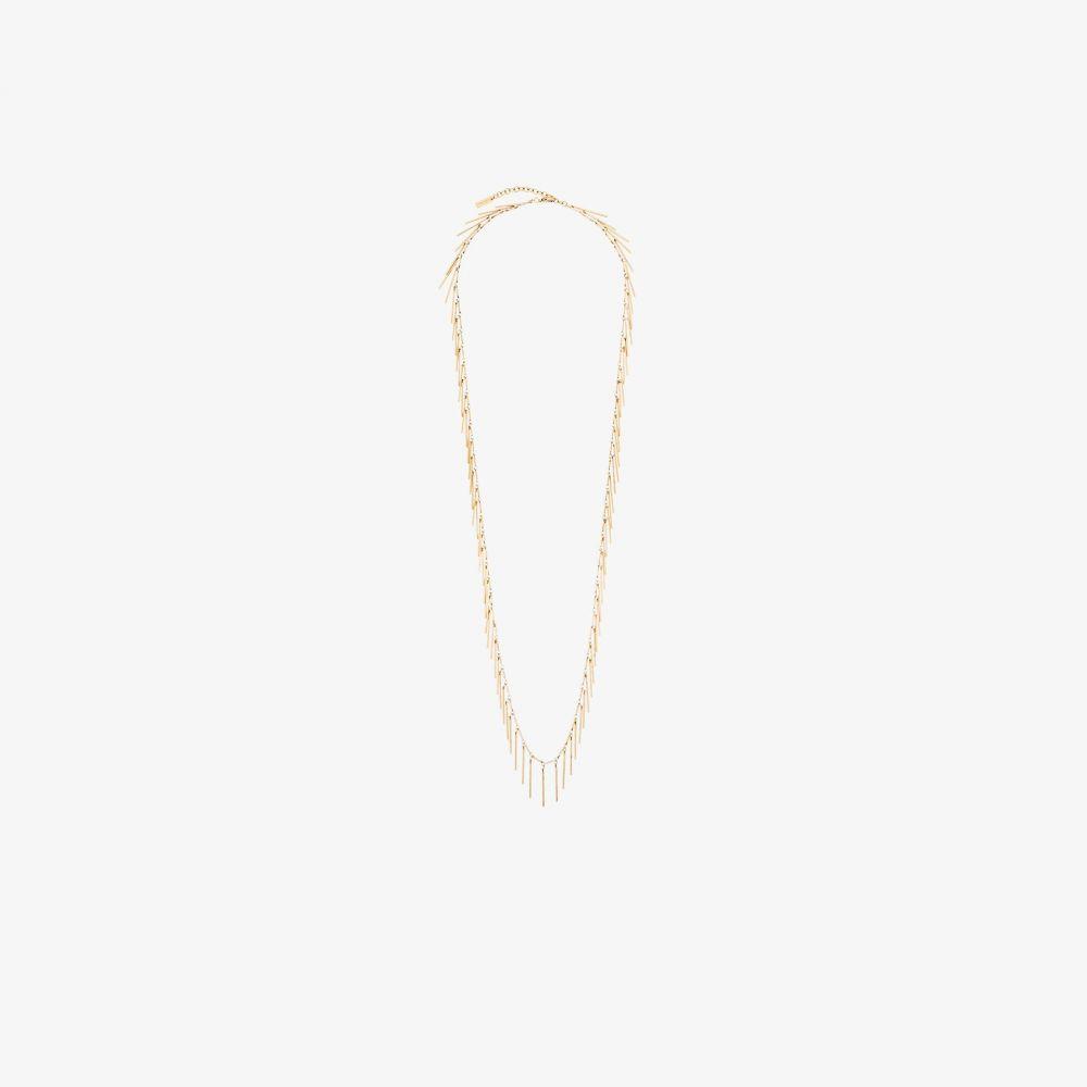 イヴ サンローラン Saint Laurent レディース ネックレス ジュエリー・アクセサリー【gold tone fringe necklace】gold