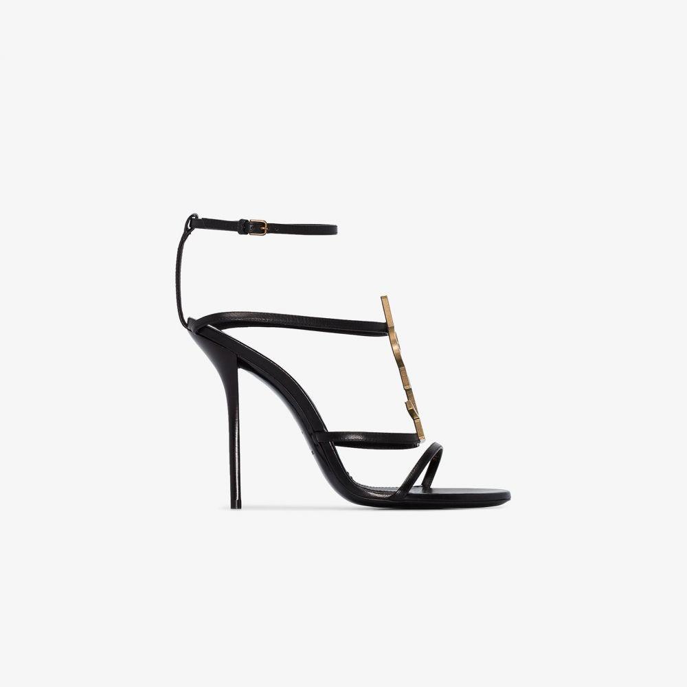 イヴ サンローラン Saint Laurent レディース サンダル・ミュール シューズ・靴【Cassandra 110 sandals】black