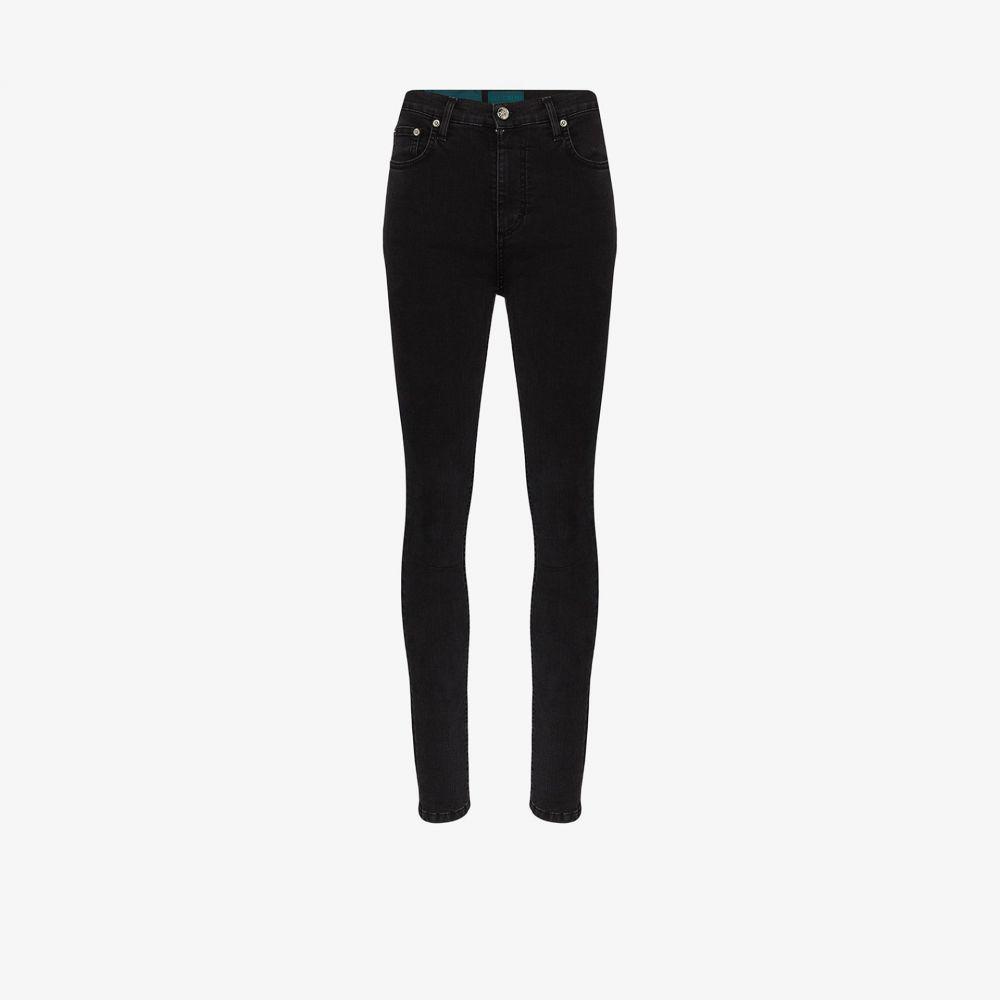 セルフ シネマ Self Cinema レディース ジーンズ・デニム ボトムス・パンツ【High waist skinny jeans】black