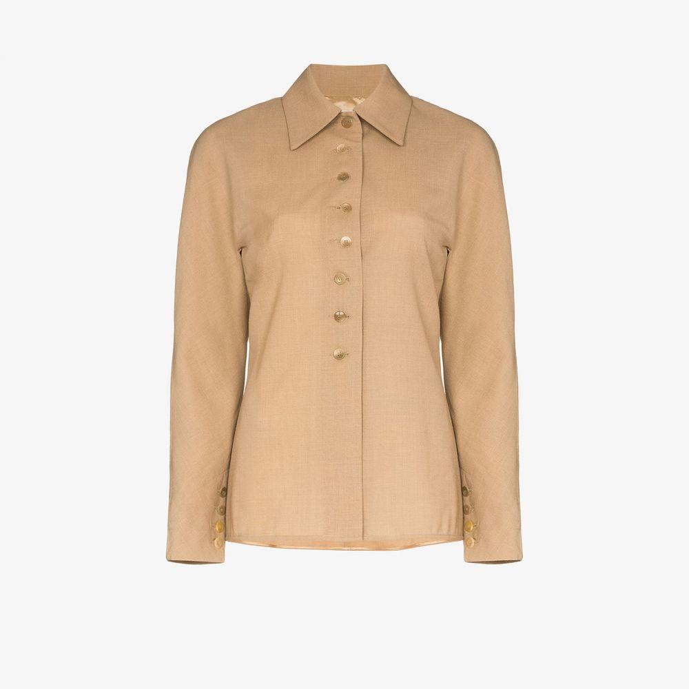 サミュエル グイ ヤン SAMUEL GUI YANG レディース ジャケット アウター【buttoned wool jacket】neutrals