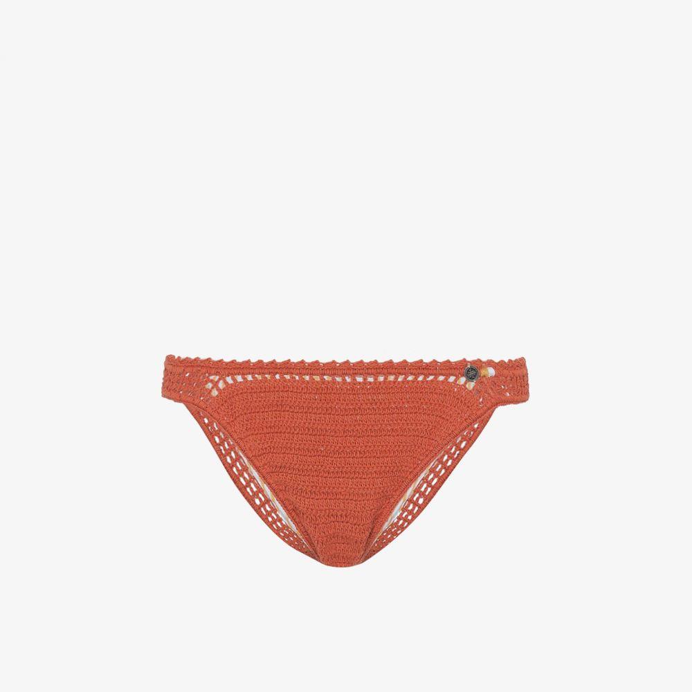 シー メイド ミー She Made Me レディース ボトムのみ 水着・ビーチウェア【Essential crochet bikini bottoms】orange