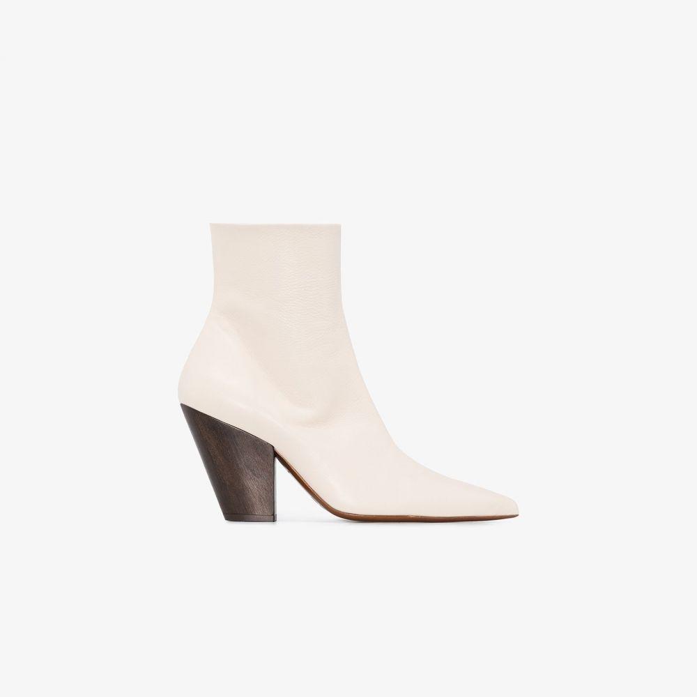 サイモンミラー Simon Miller レディース ブーツ ショートブーツ シューズ・靴【white Pack 100 leather ankle boots】white