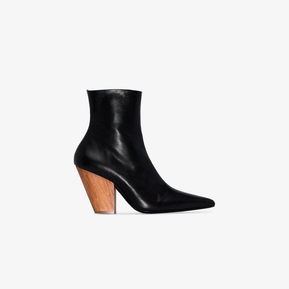 サイモンミラー Simon Miller レディース ブーツ ショートブーツ シューズ・靴【black Pack 100 leather ankle boots】black