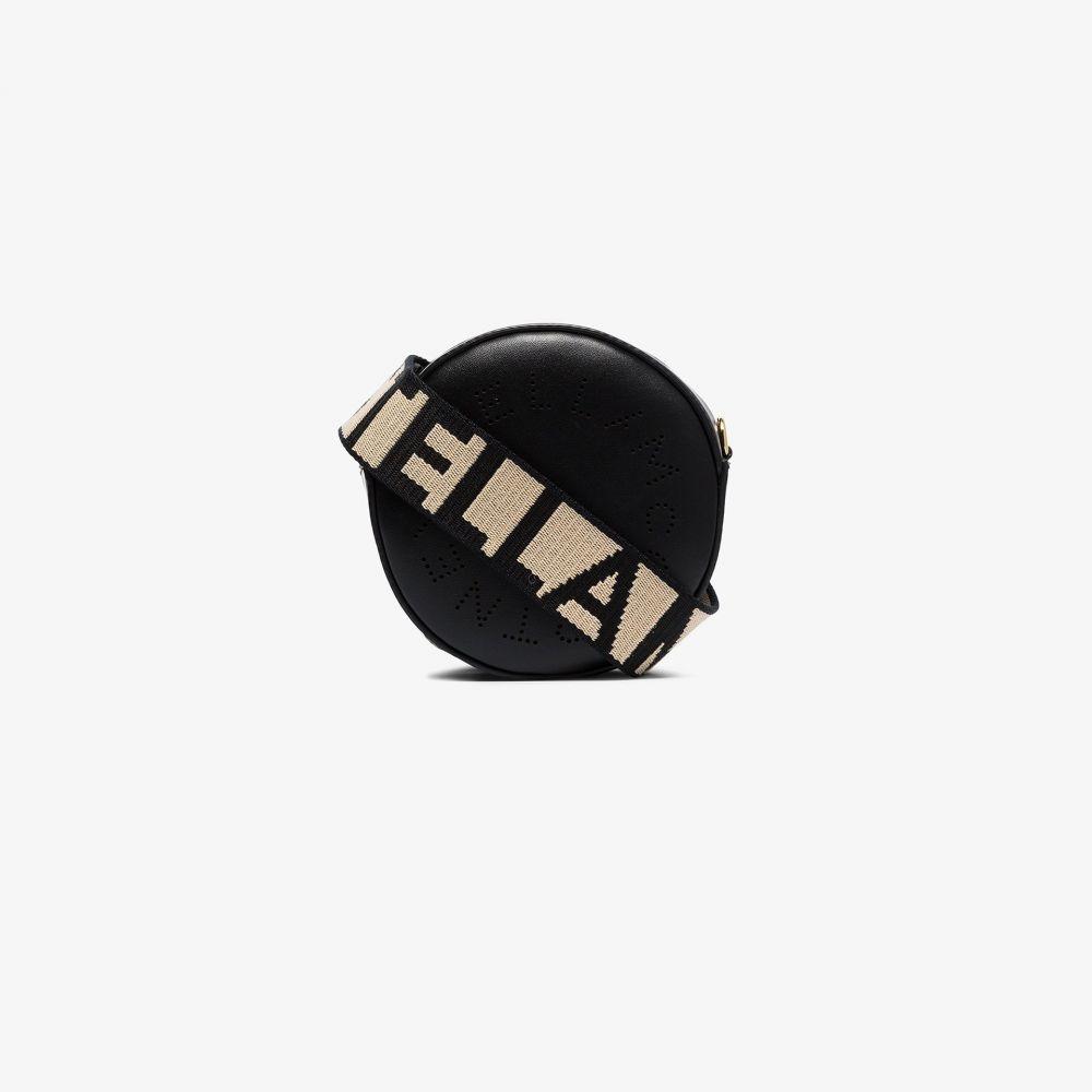 ステラ マッカートニー Stella McCartney レディース ショルダーバッグ バッグ【black mini round logo cross body bag】black