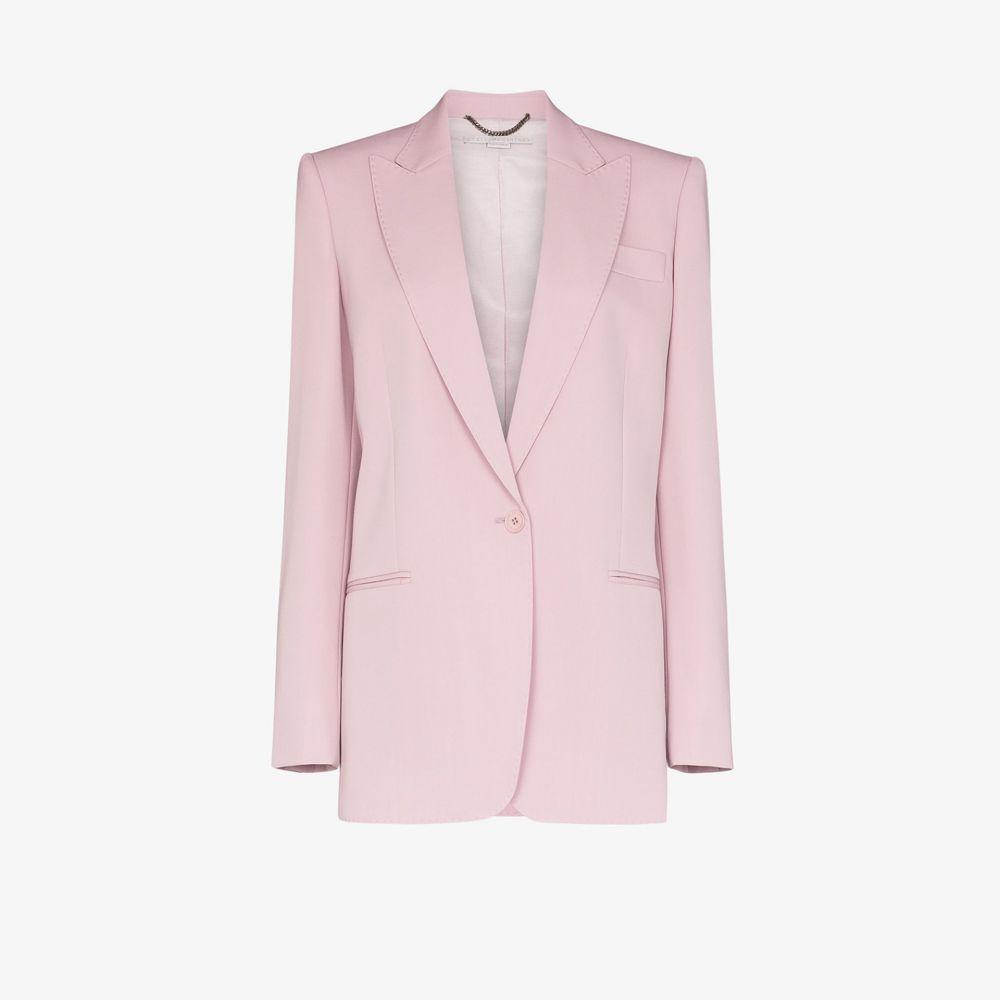ステラ マッカートニー Stella McCartney レディース スーツ・ジャケット アウター【single-breasted tailored blazer】purple