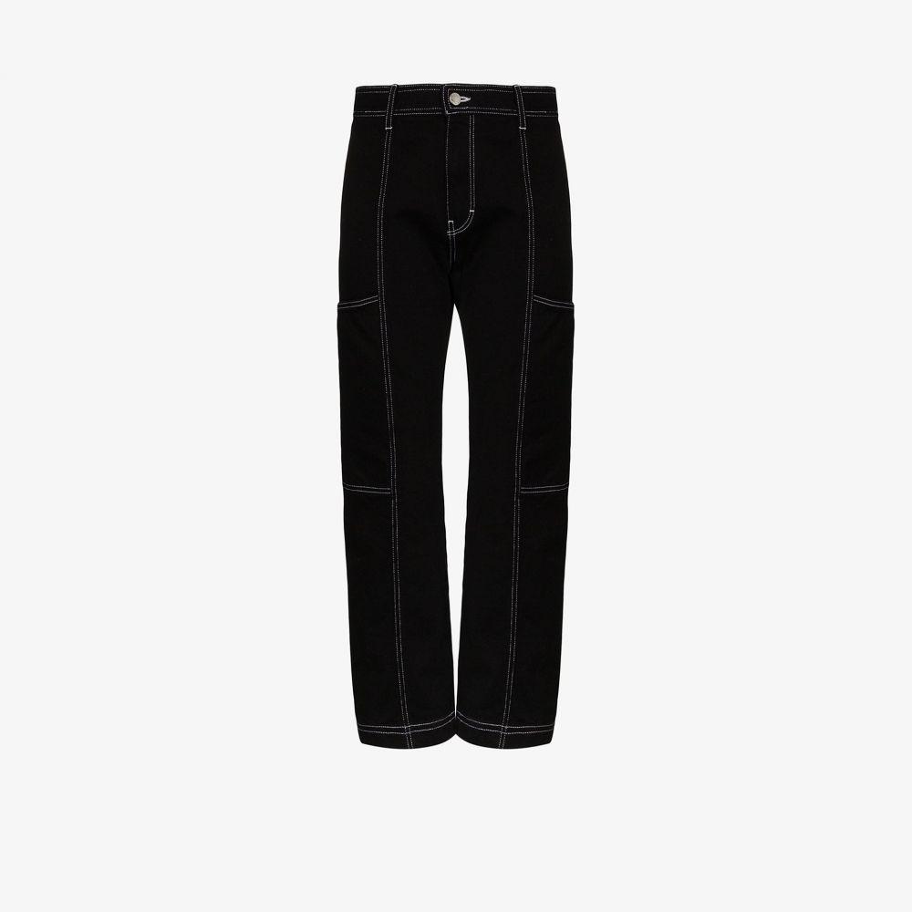 サイモンミラー Simon Miller レディース ジーンズ・デニム ボトムス・パンツ【contrast stitching cargo jeans】black