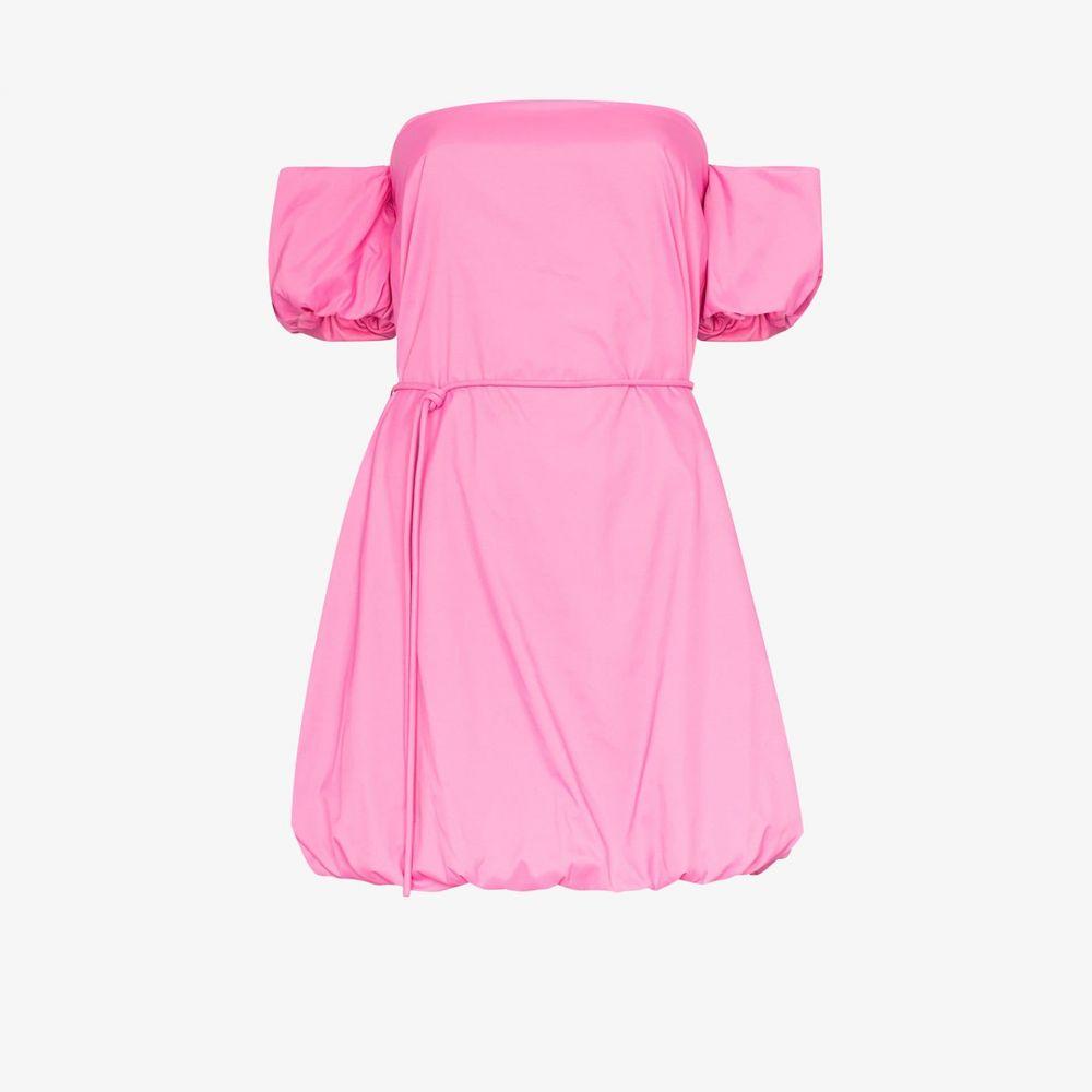 スタウド Staud レディース パーティードレス ミニ丈 ワンピース・ドレス【ash mini dress】pink