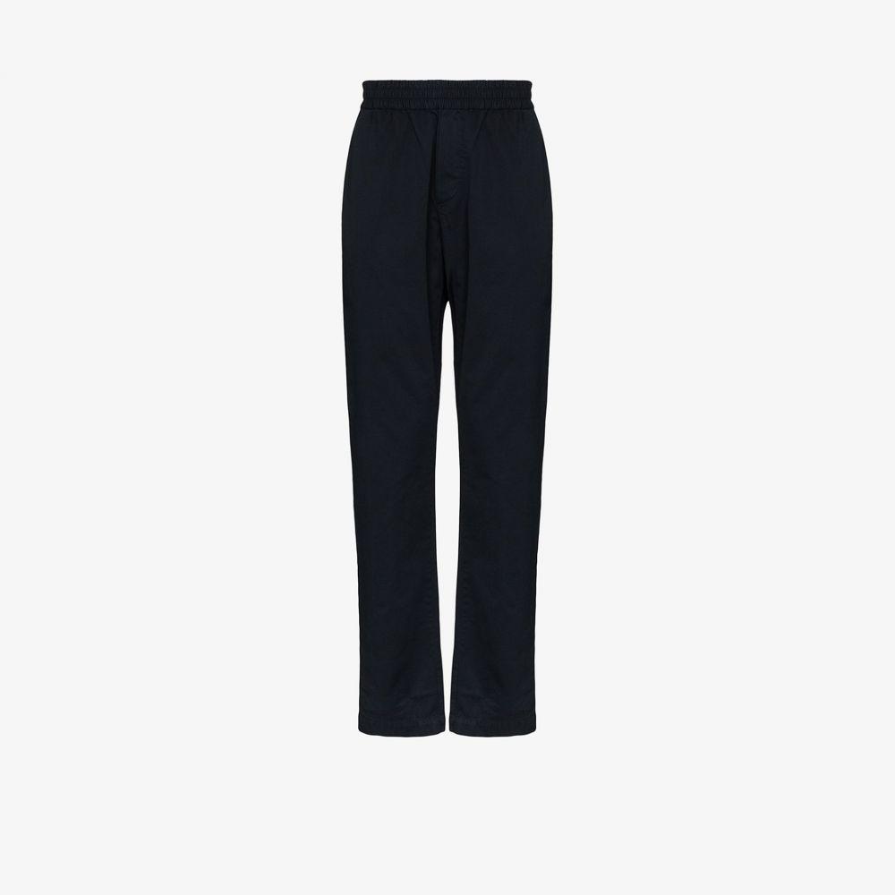 サンスペル Sunspel メンズ ボトムス・パンツ 【straight leg cotton trousers】blue