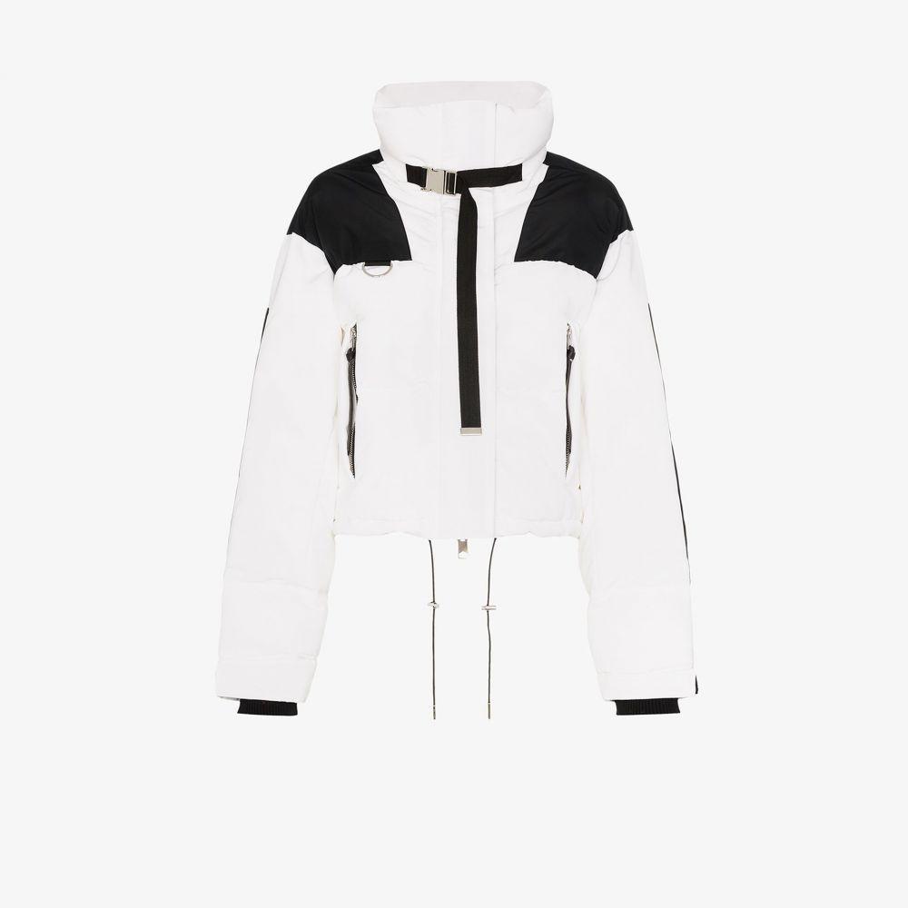 ショーディッチ スキー クラブ SHOREDITCH SKI CLUB レディース ダウン・中綿ジャケット アウター【Laurel panel puffer jacket】white