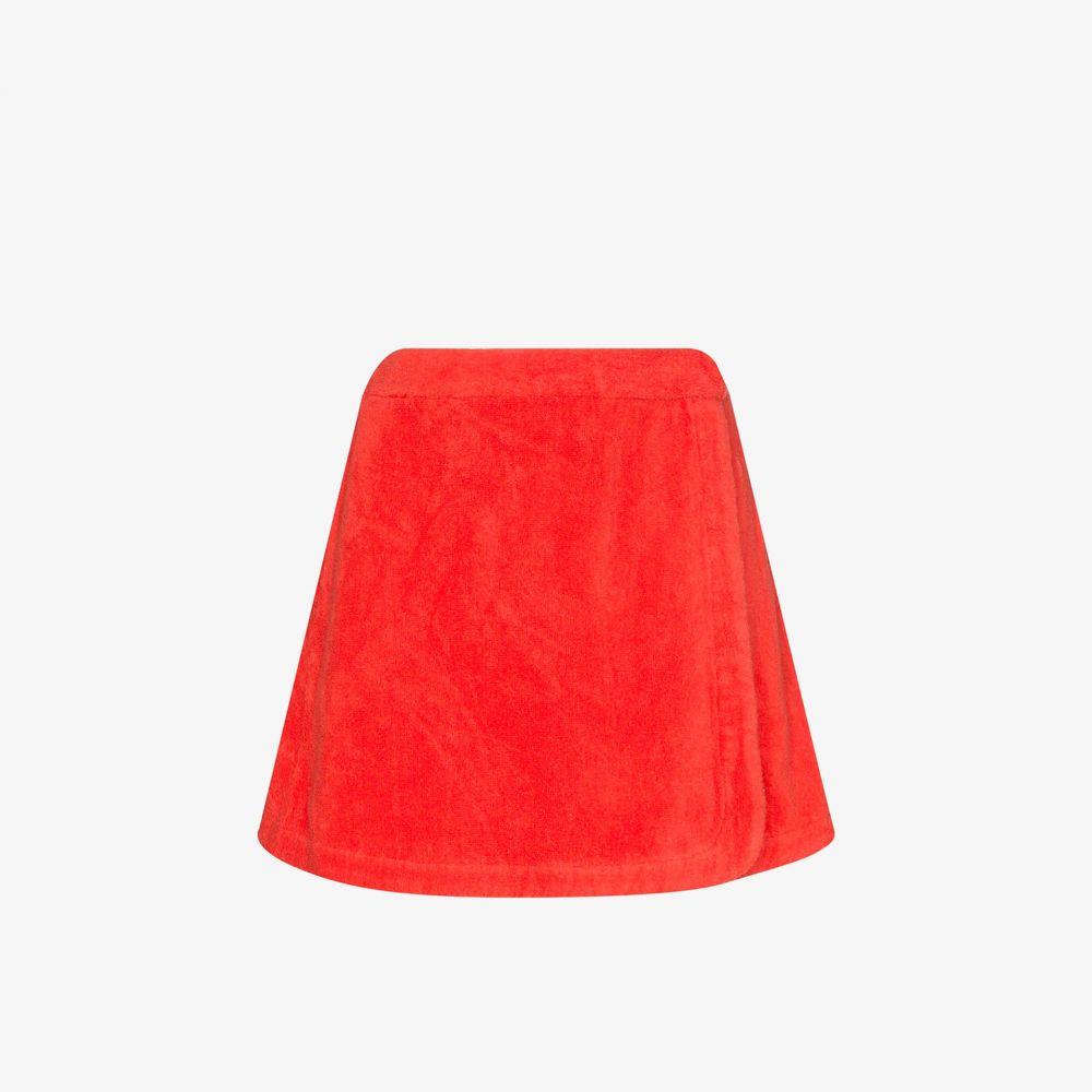 テリー Terry レディース ミニスカート スカート【Dolce cotton mini skirt】red